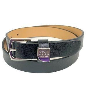 Jones New York Black/Silver Belt Small